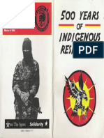 500 Years of Indigenous History