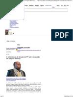 A Nota Ridícula Da Direção Do PT Sobre a Decisão de Joaquim Barbosa _ Reinaldo Azevedo - Blog - VEJA