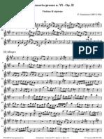 Geminiani Concerto Grosso VI Op 2 VlII Ripieno 0