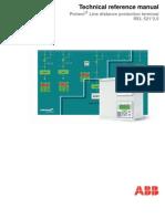 1mrk506171-Uen c en Technical Reference Manual Line Distance Protection Terminal Rel521 2.5