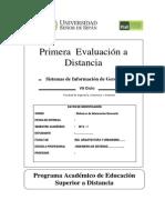 1ra Evaluacion a Distancia SIG-2013I Elia Vizcarra