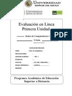 Evaluacion Linea I Unidad Redes 1 2013 I