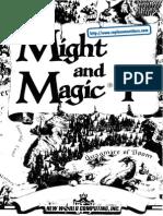 Might and Magic - Book I [Cluebook]