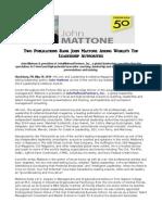 Two Publications Rank John Mattone Among World's Top Leadership Authorities