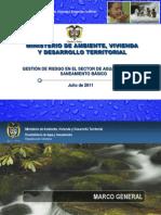 8. Gesti n Del Riesgo en El Sector de Agua Potable y Saneamiento b Sico MAVDT