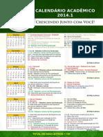 Calendario Academico 2014 FVJ