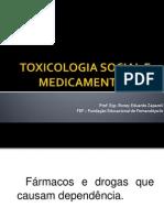 Toxicologia Social e Medicamentos