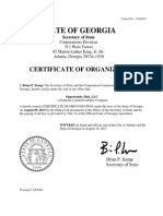 Opportunity Hub Certificate of Organization 081613