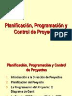 Gestion Proyectos Planificacion, Programacion y Control