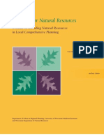 Planning for Natural Resources, A Guide to Including Natural Resources in Local Comprehensive Planning