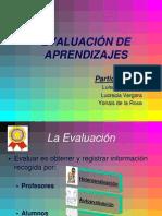 Evaluacion de Aprendizajes
