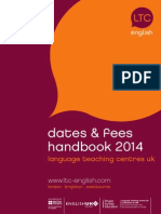LTC UK Dates and Fees 20141