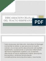 Descamacion Celular Del Tracto Respiratorio