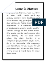 My Name is Marcos