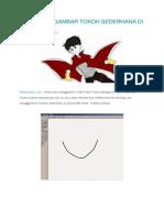 Cara Menggambar Tokoh Sederhana Di Ms Paint