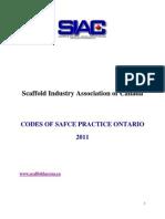 Codes of Safe Practice Ontario-2011