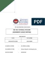 Biu3013 Assignment 2
