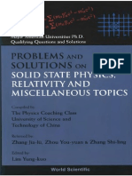 Lim. Yung-Kuo. Problems and Solutions on Solid State Physics, Relativity