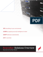 Sourcefire Solutions Overview Brochure