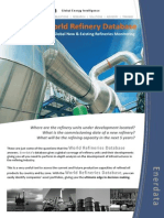 World Refineries Database Brochure