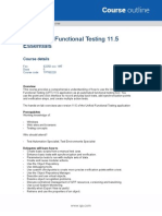 QA-HP Unified Functional Testing 11 5 Essentials