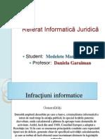 Infracţiuni Informatice