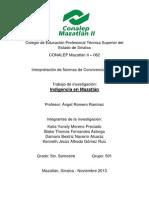 Indigencia en Mazatlán PROYECTO
