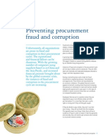 Forensic Preventing Procurement Fraud and Corruption
