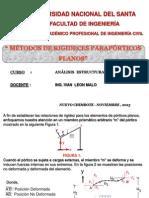 4.- PÓRTICOS PLANOS