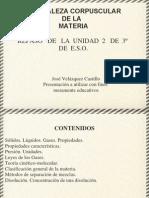 Naturaleza Corpuscular de La Materia