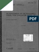 Blackwell Model