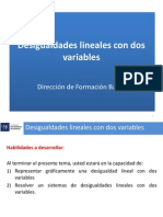 Semana 2.2 DesigualdadesLineales Con Dos Variables