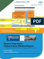 Medical Physics STP Programme