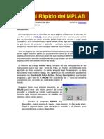Manual Rápido Del MPLAB