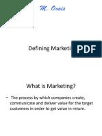 142238533 Defining Marketing