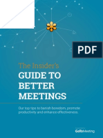 Insiders Guide to Better Meetings