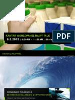 Kantar Worldpanel Dairy Talk Summary - Part 1 - Consumer Pulse