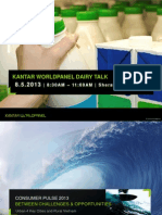 Kantar Worldpanel Dairy Talk Summary - Part 1 - Consumer Pulse