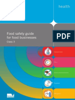 Food Safety Guide for Food Businesses Class 3