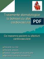 1.Tratamente Stomatologice La Bolnavii Cu Afectiuni Cardiovasculare