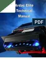 Ardac Elite Technical Manual V1.8