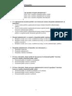 Dreptul Administrativ Al Bunurilor - Subiecte 2011 Pt Adm Publ.