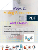 5th grade - week 2 mixing substances - ppt