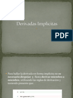 Derivadas Implicitas