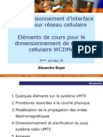 4IR-BE Dimensionnement Interface Radio 2012 v3