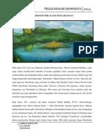 Borobudur Teratai Di Tengah Danau. Tugas Geowis