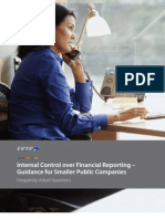 Internal Control Over Financial Reporting – Guidance for Smaller Public