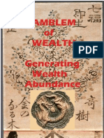 Amblem of Wealth Generating Wealth Abundance