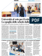Università al voto per il Rettore - Il Resto del Carlino del 29 maggio 2014