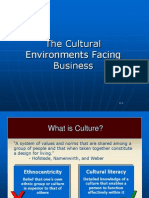 Cultural in Economic Scenario